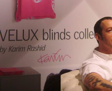 Rencontre avec Karim Rashid pour Velux