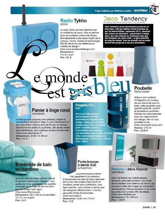 Chroniques Déco dans le magazine Cuisine Tendance + Bains 3