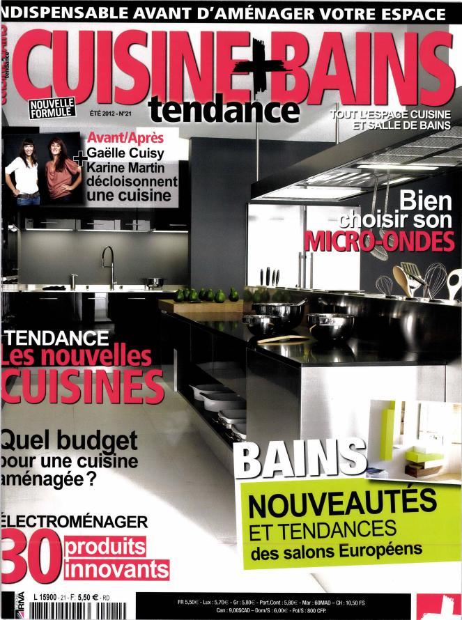 Chroniques Déco dans le magazine Cuisine Tendance + Bains 8