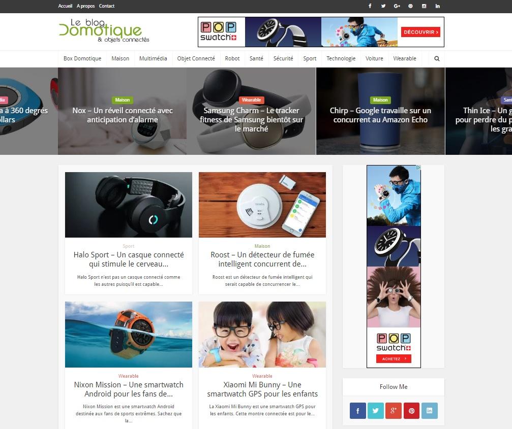 Le Blog Domotique