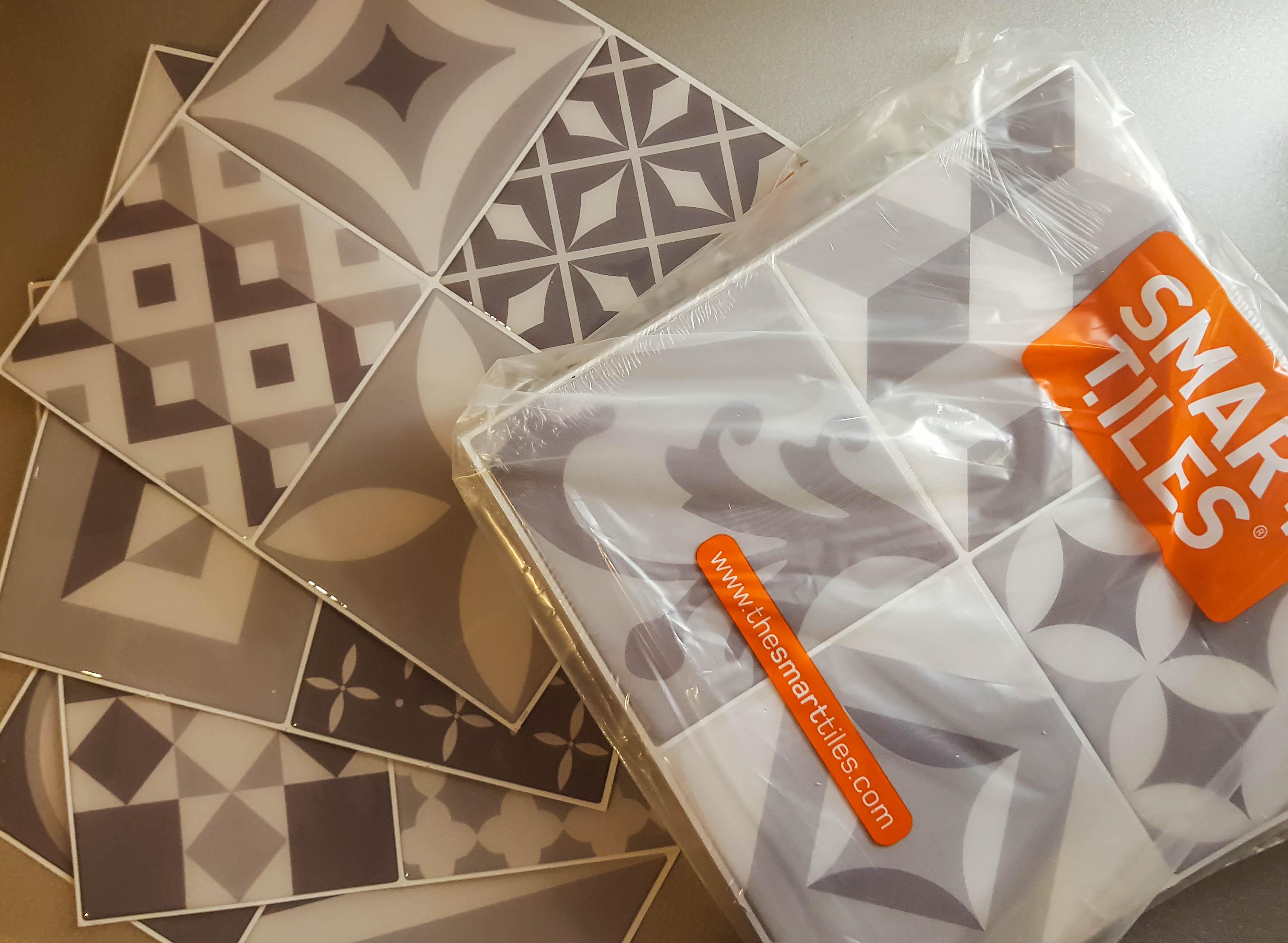Test produit gamme Vintage de carrelage auto-adhésif de Smart Tiles