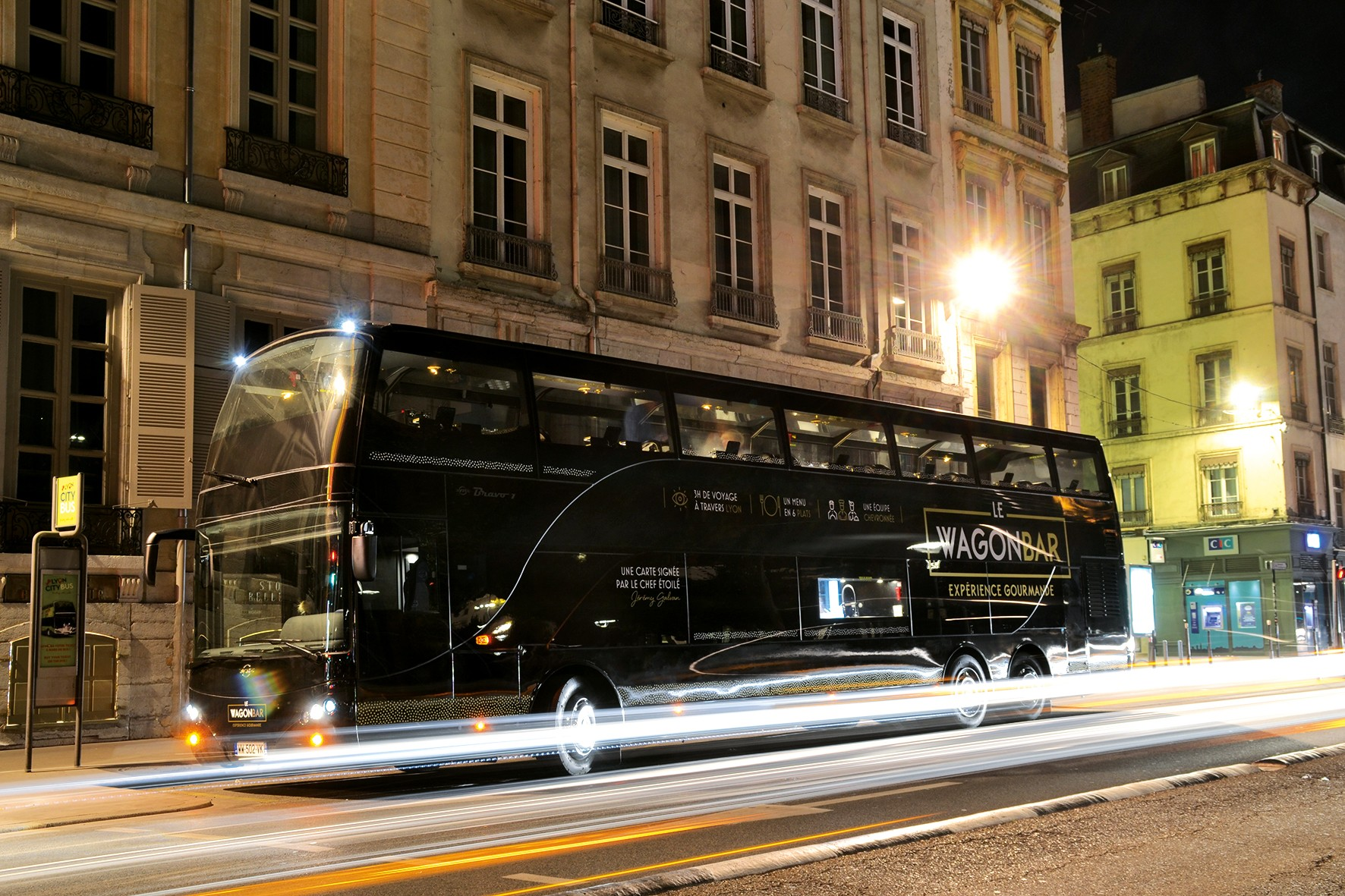 Le Wagon Bar - Test du bus restaurant de Lyon 13