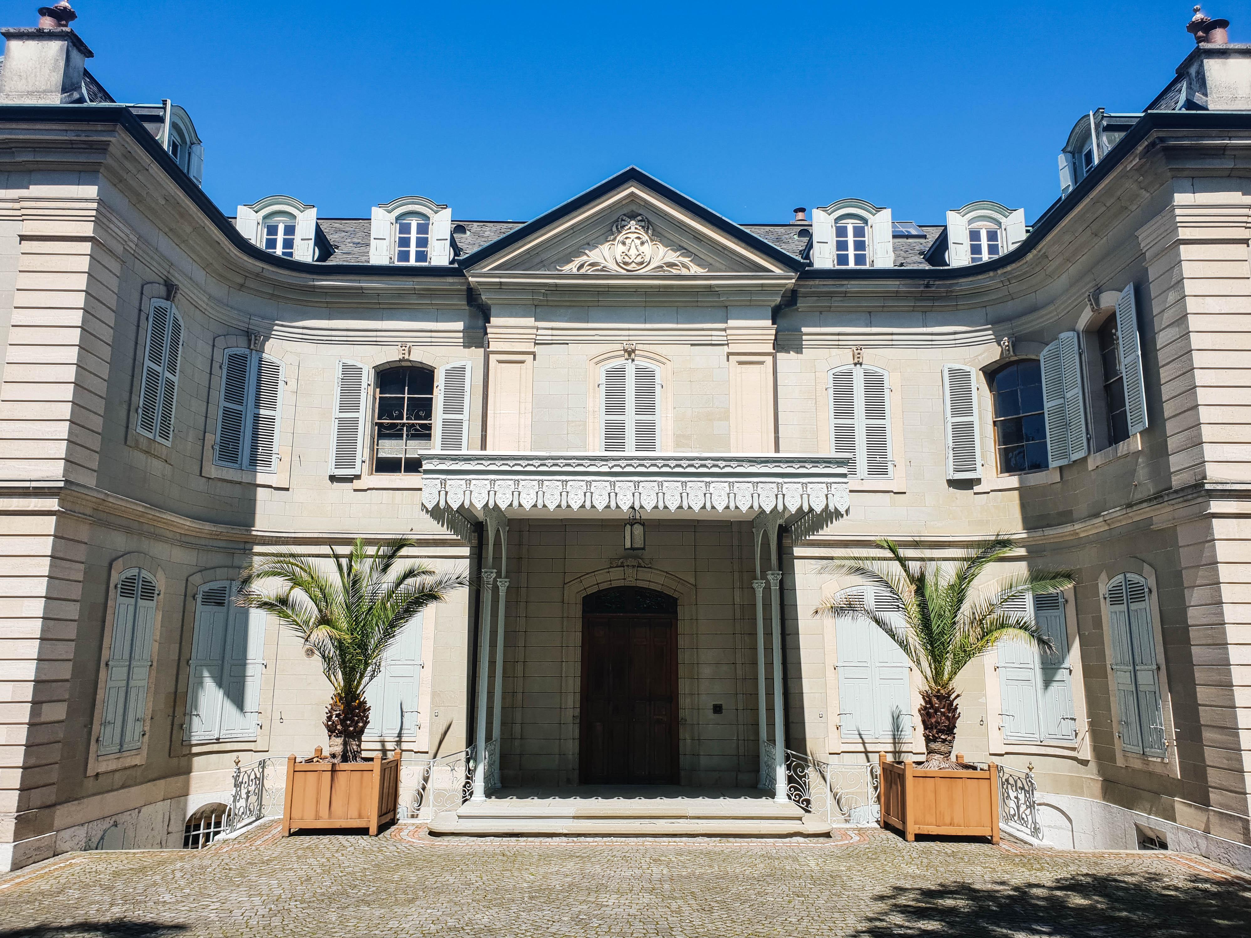 Visiter Genève en une journée villa La Grange