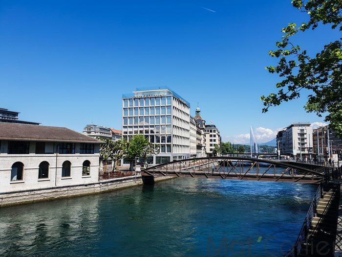 Visiter Genève en une journée île dubâtiment Forces Motrices