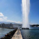 Visiter Genève en une journée jet d'eau 2