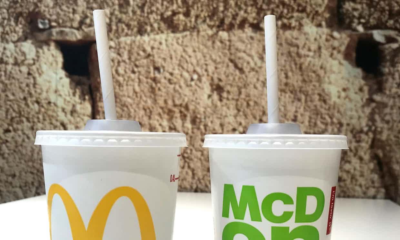 pailles en métal pailles en plastiques McDonalds