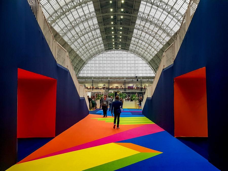 London Design Festival – Voyage presse salon100% Design