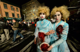 Village Halloween Parade à New York