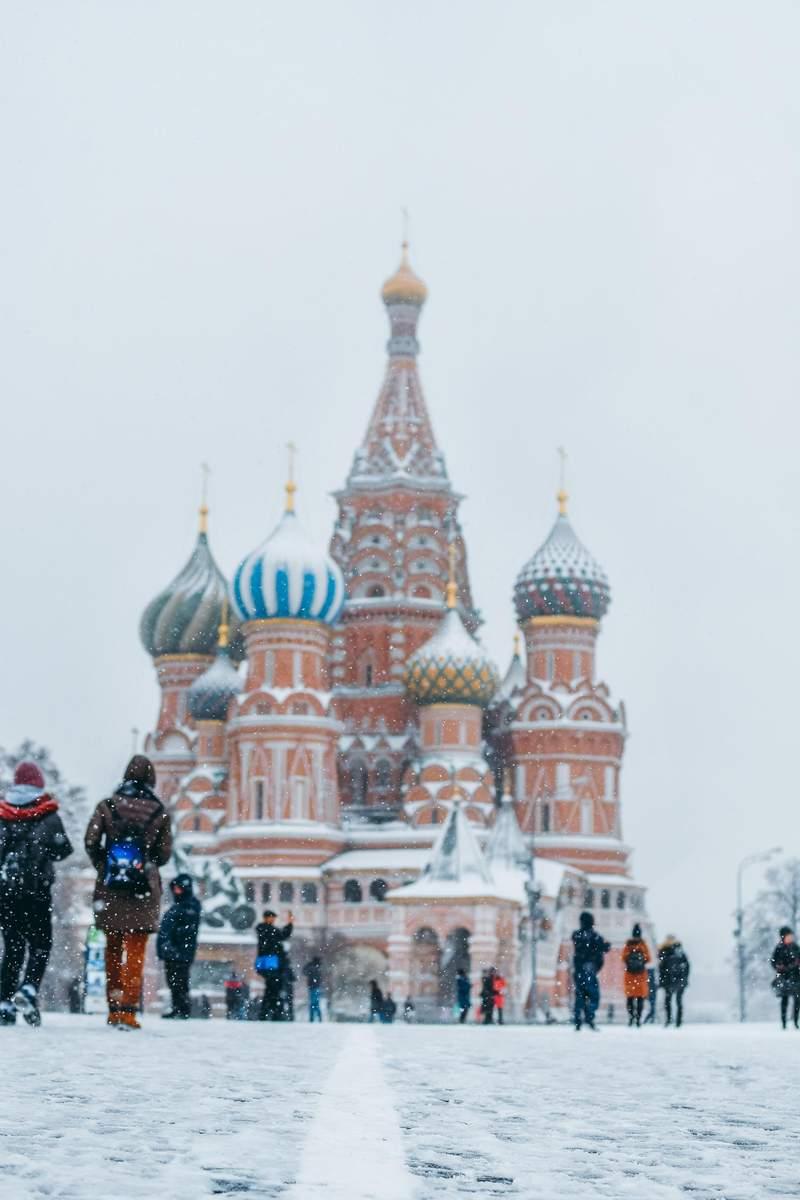 10 meilleures destinations pour partir en vacances en décembre Moscou Russie