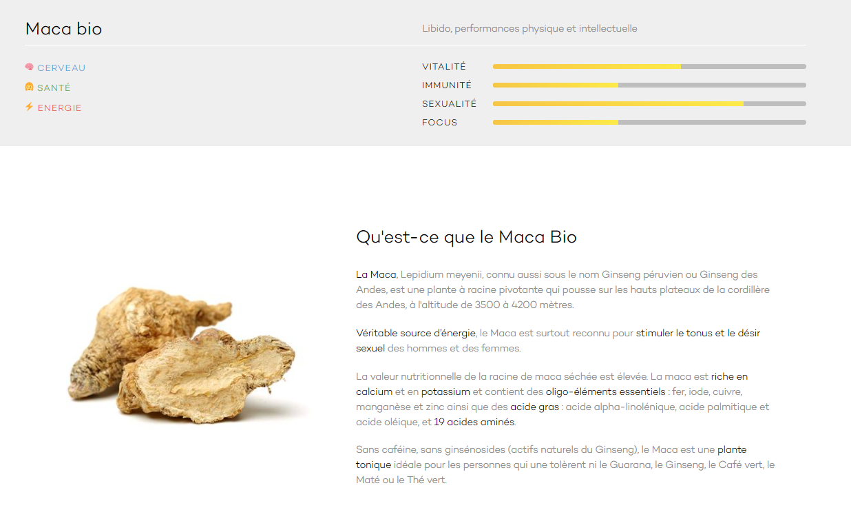 Avis Bloomizon Test Maca Bio