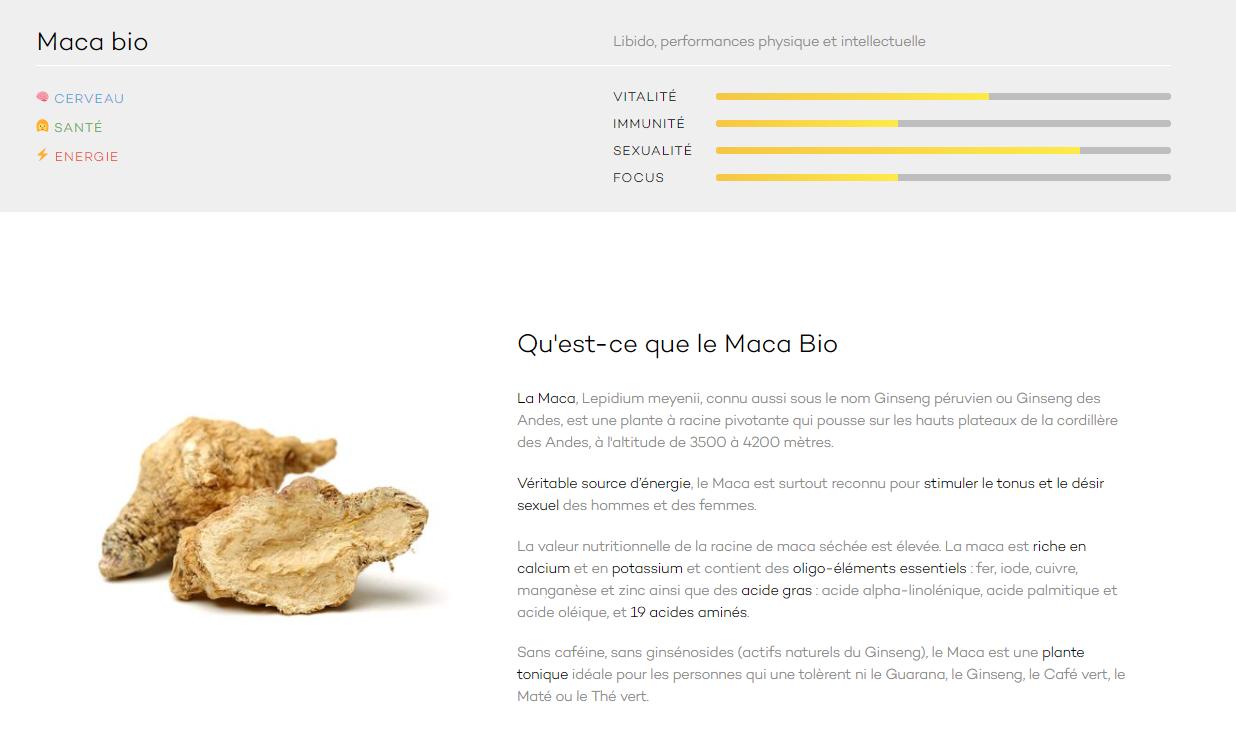 Avis Bloomizon Test Maca Bio