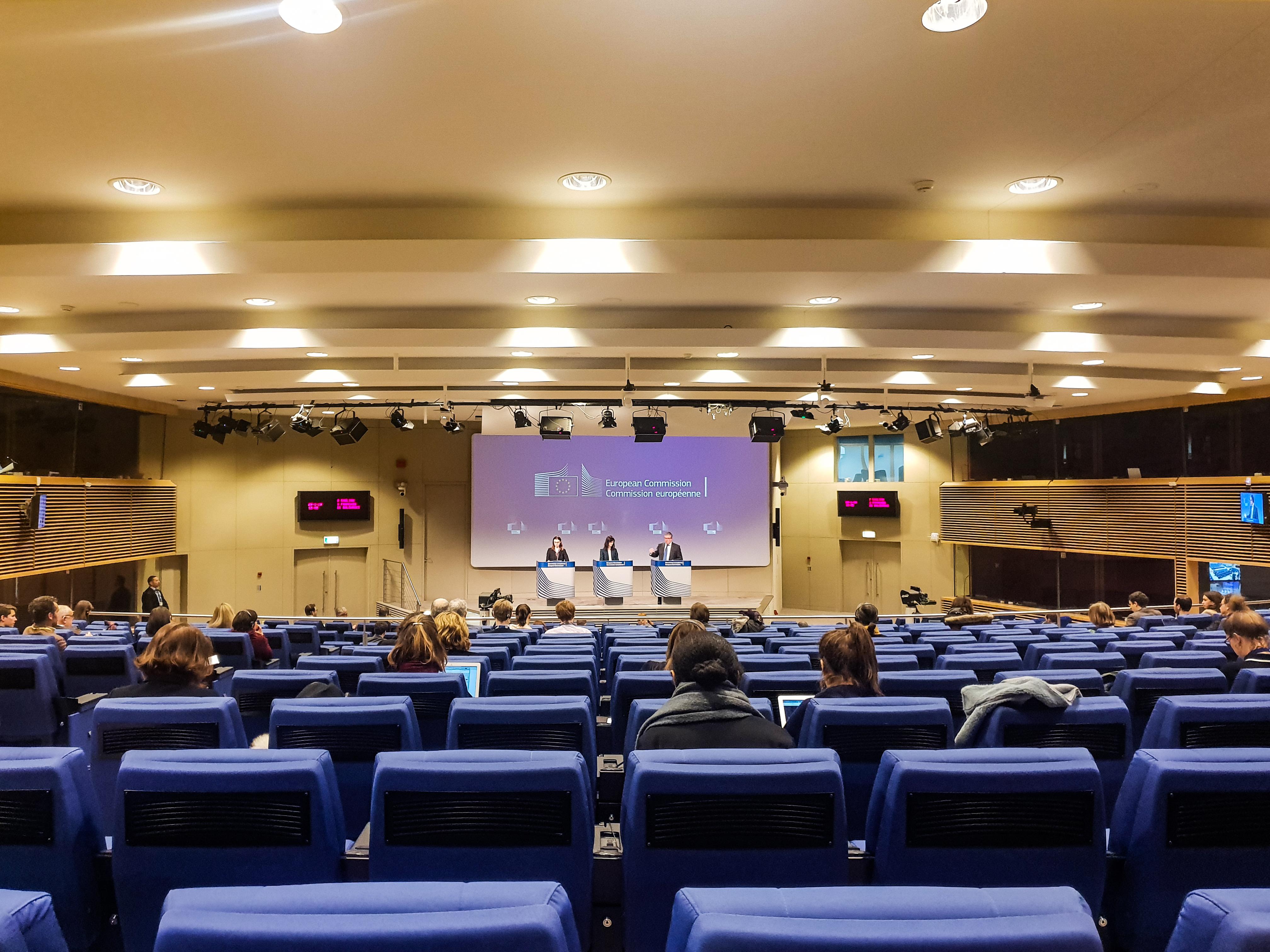 Séminaire influenceurs à Bruxelles avec la Commission Européenne 2