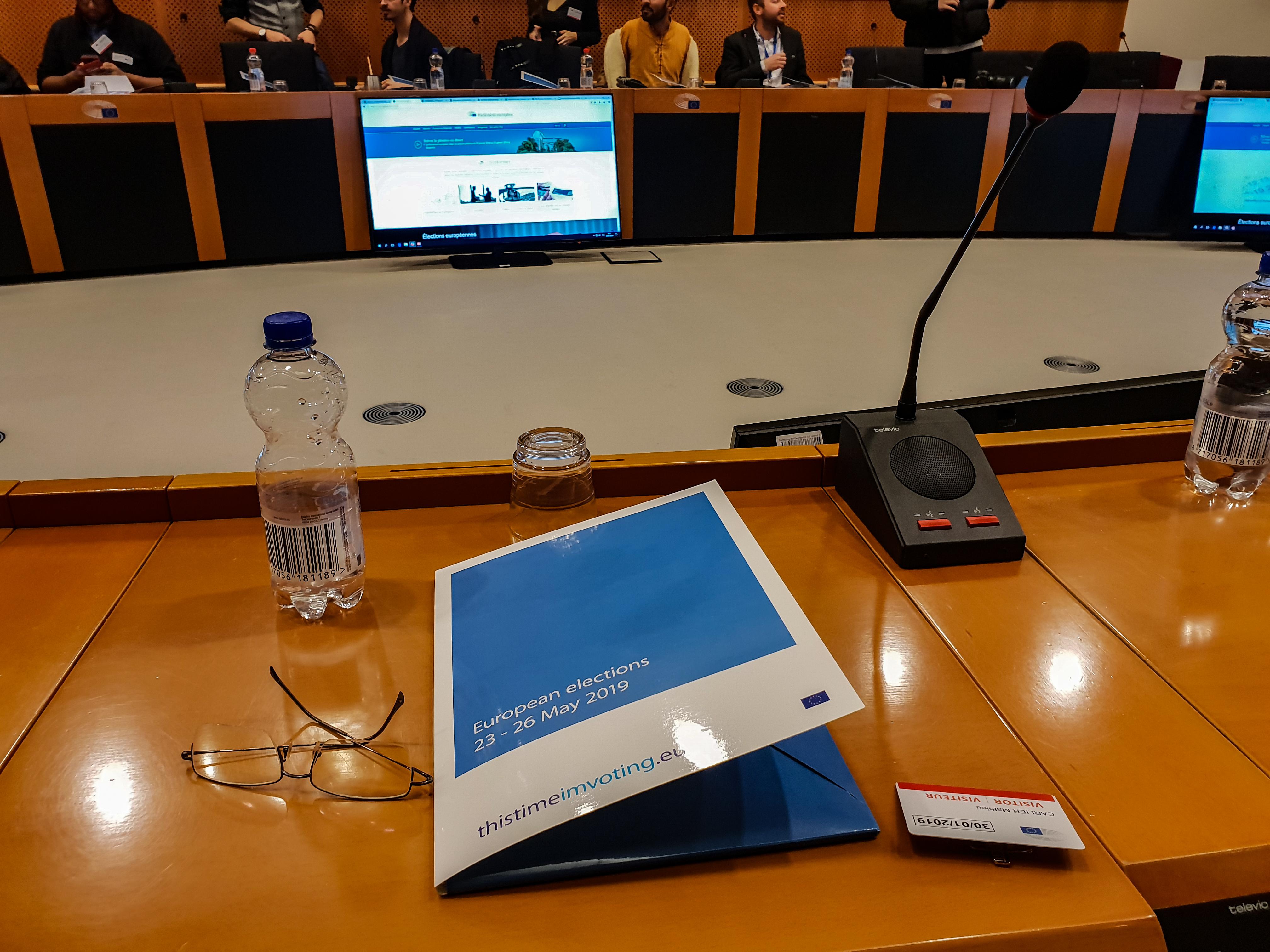 Séminaire influenceurs à Bruxelles Parlement Européen 1