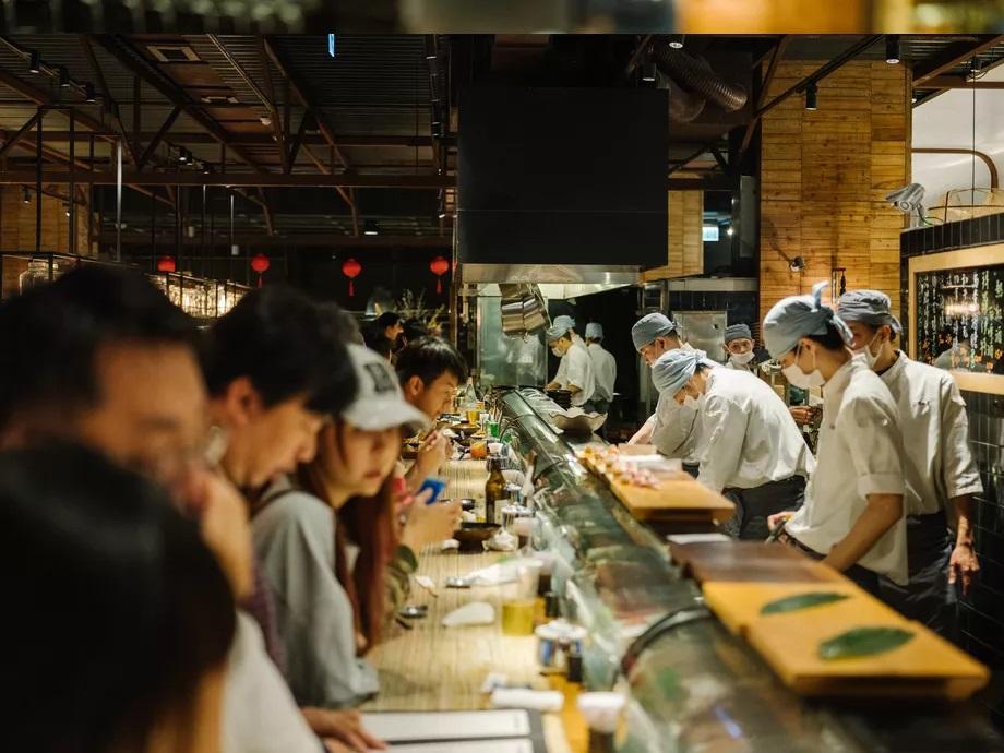 Addiction Aquatic Development - Le Sushi Bar