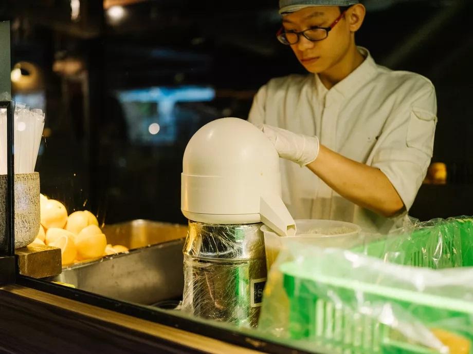 Marché gastronomique de Zhongshan -Sélection de fruits