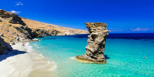 Îles grecques à visiter Andros