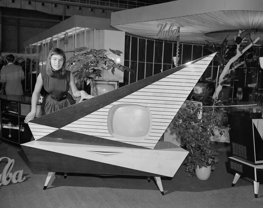 Kuba Komet, conçu par la KUBA Corporation, 1957, Wolfenbuttel, Allemagne de l'Ouest. AP