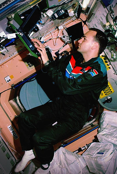 Mark shuttleworth iss