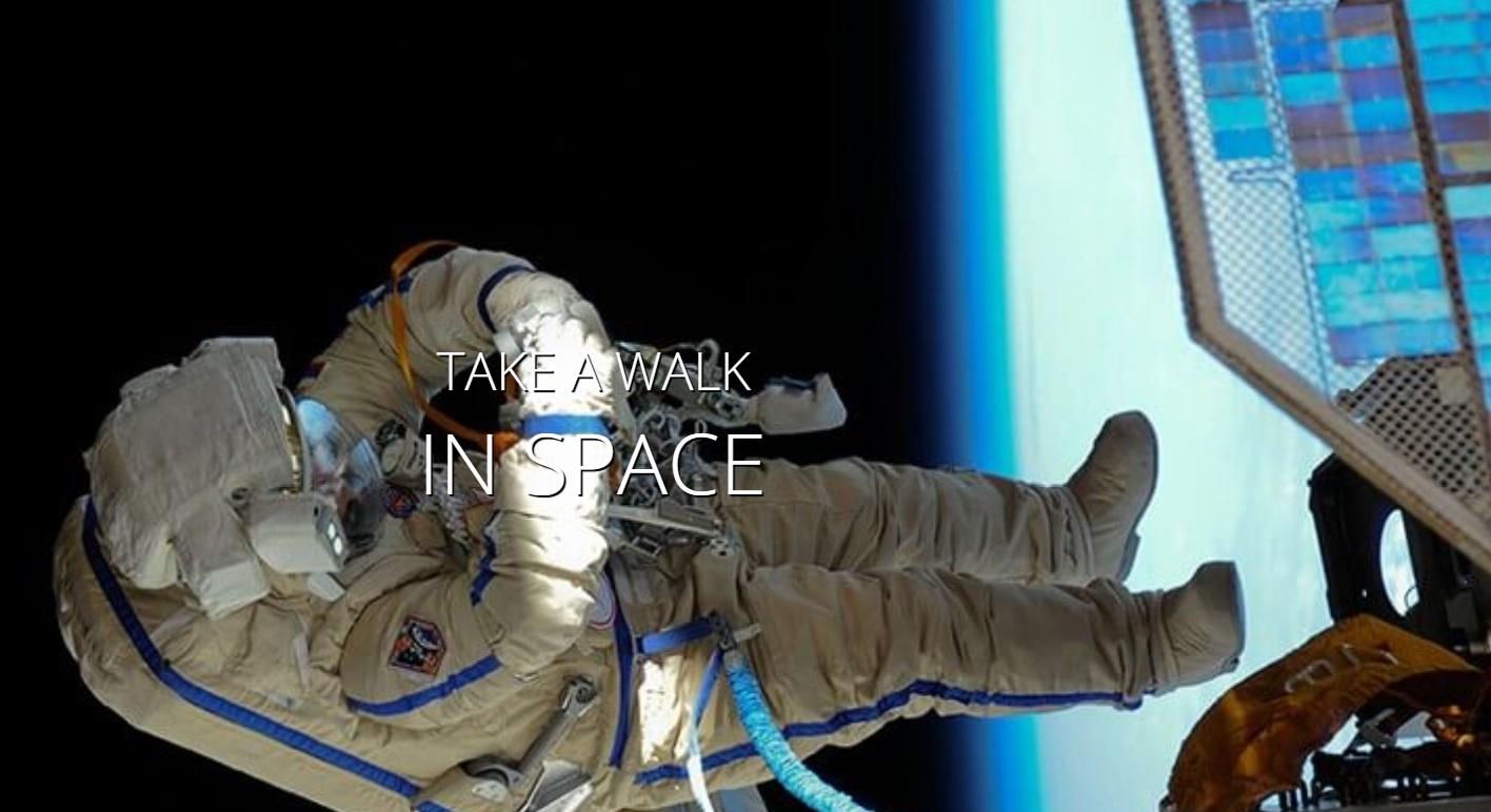 Spacewalk touriste espace