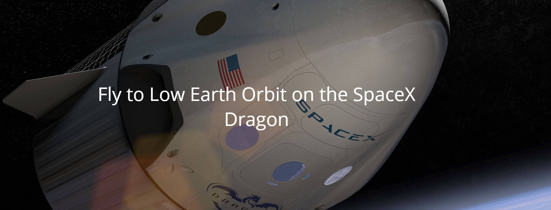 vol orbite basse dragon spacex
