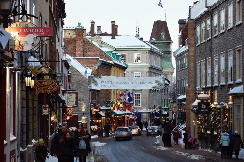 Visite à pied de l'historique Upper Town Old Québec