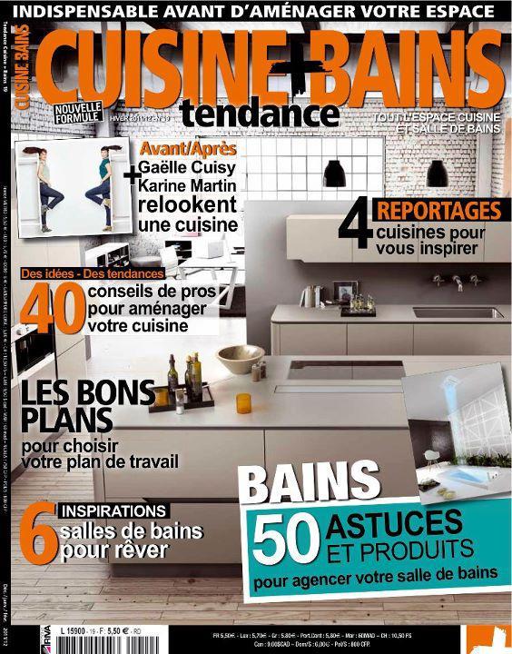 Chroniques Déco dans le magazine Cuisine Tendance + Bains 1