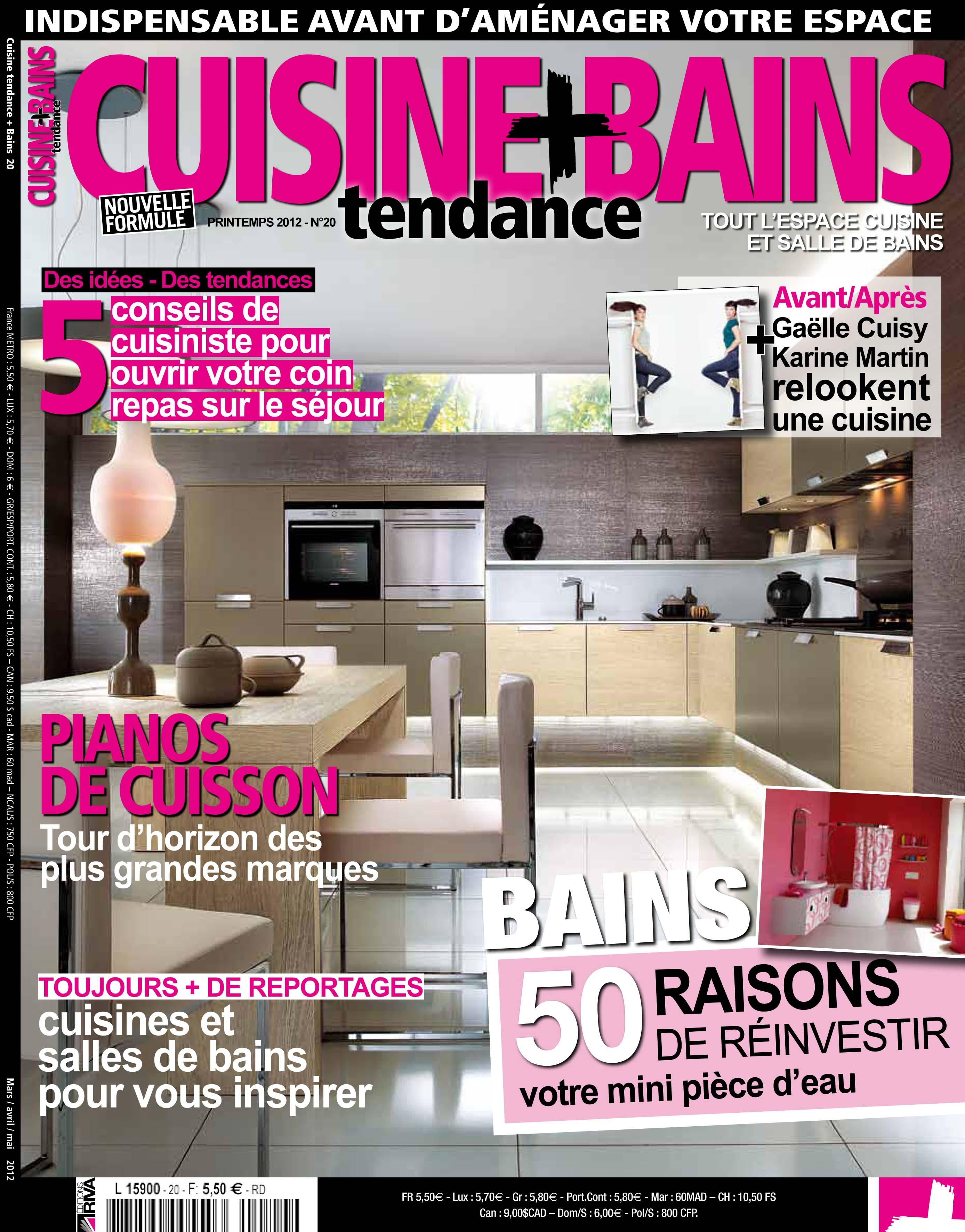 Chroniques Déco dans le magazine Cuisine Tendance + Bains 4