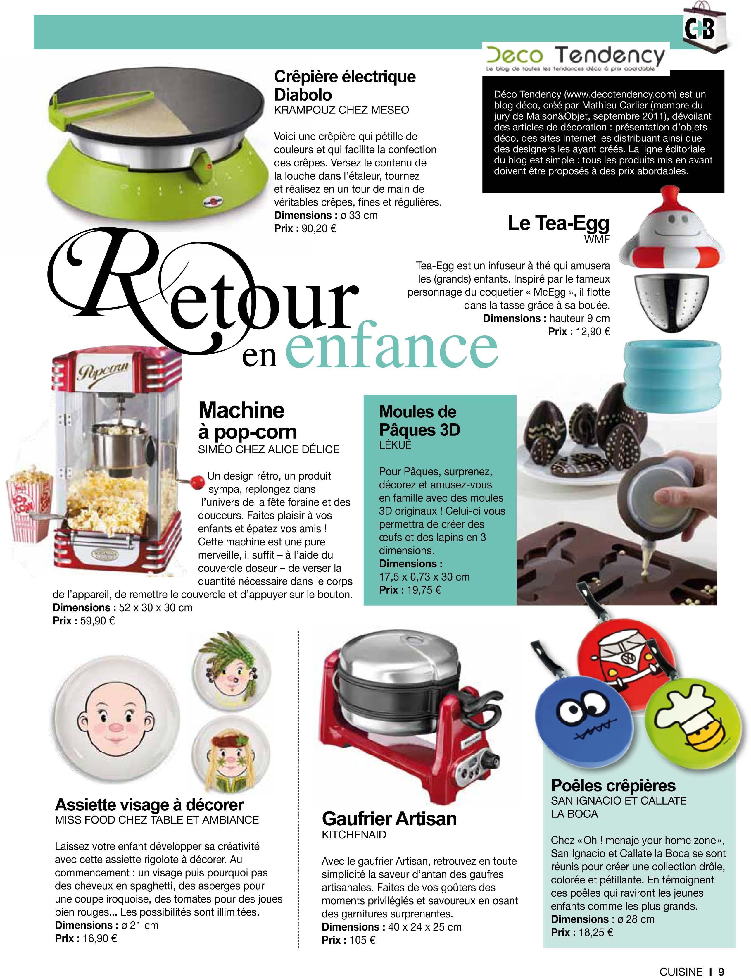 Chroniques Déco dans le magazine Cuisine Tendance + Bains 6