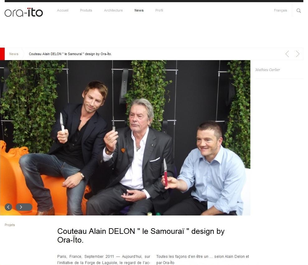 Alain Delon et Ora Ito 2