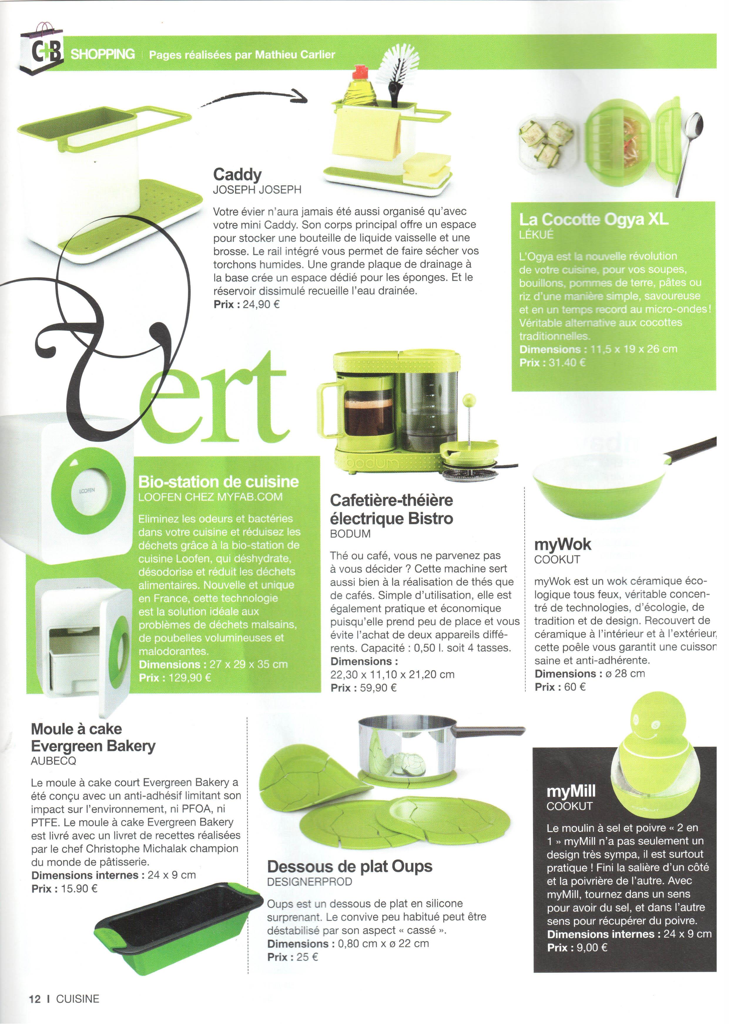 Chroniques Déco dans le magazine Cuisine Tendance + Bains 10