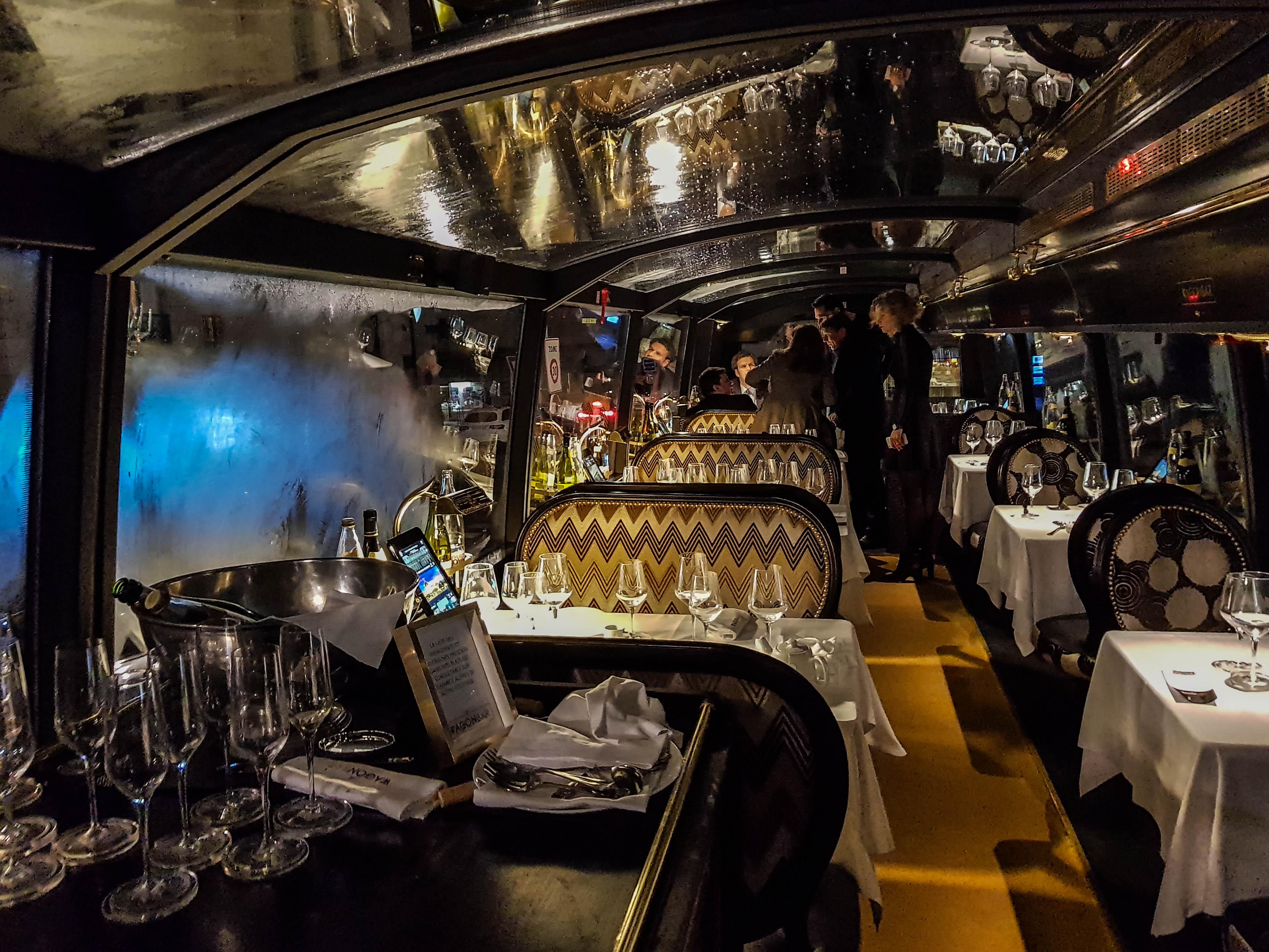 Le Wagon Bar - Test du bus restaurant de Lyon 2