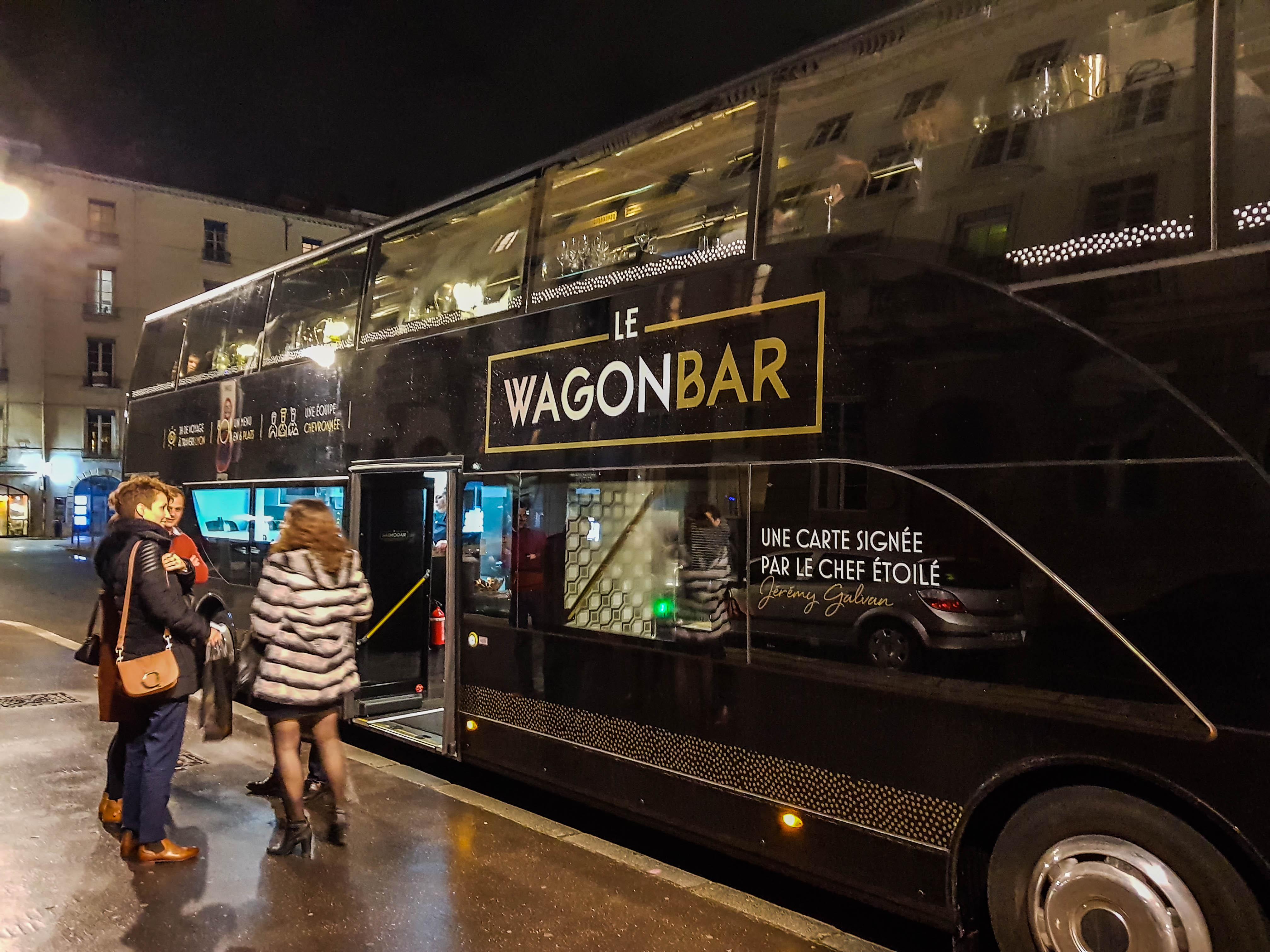 Le Wagon Bar - Test du bus restaurant de Lyon