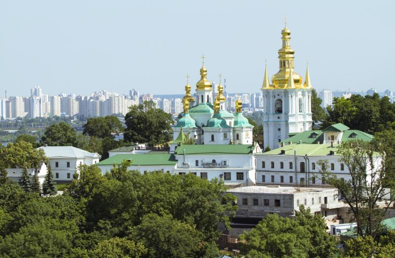Kiev City Guide - LaCathédrale Sainte-Sophie