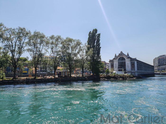 Visiter Genève en une journée île dubâtiment Forces Motrices 2