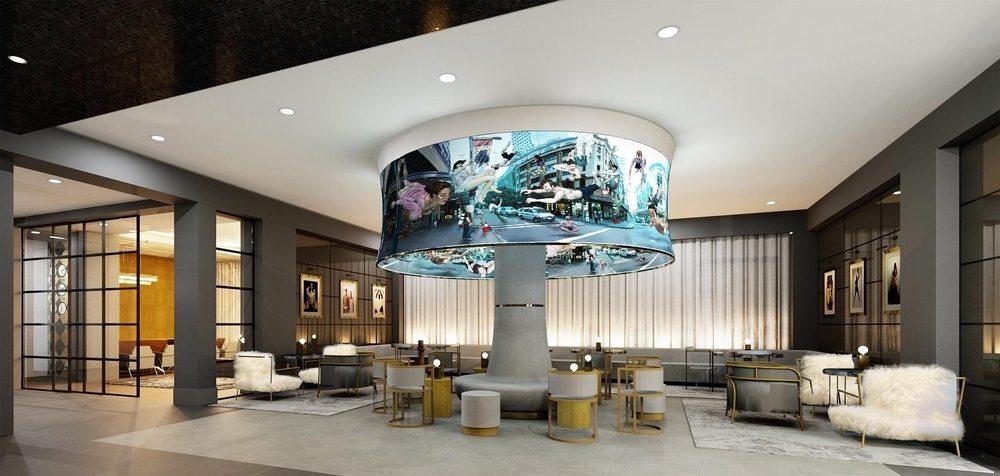 Angad Arts Hotel Saint Louis Grand Center Arts District Chameleon Lounge