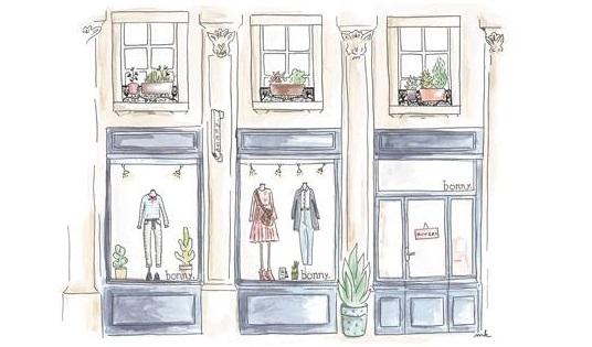 Bonny Lyon Shop Design