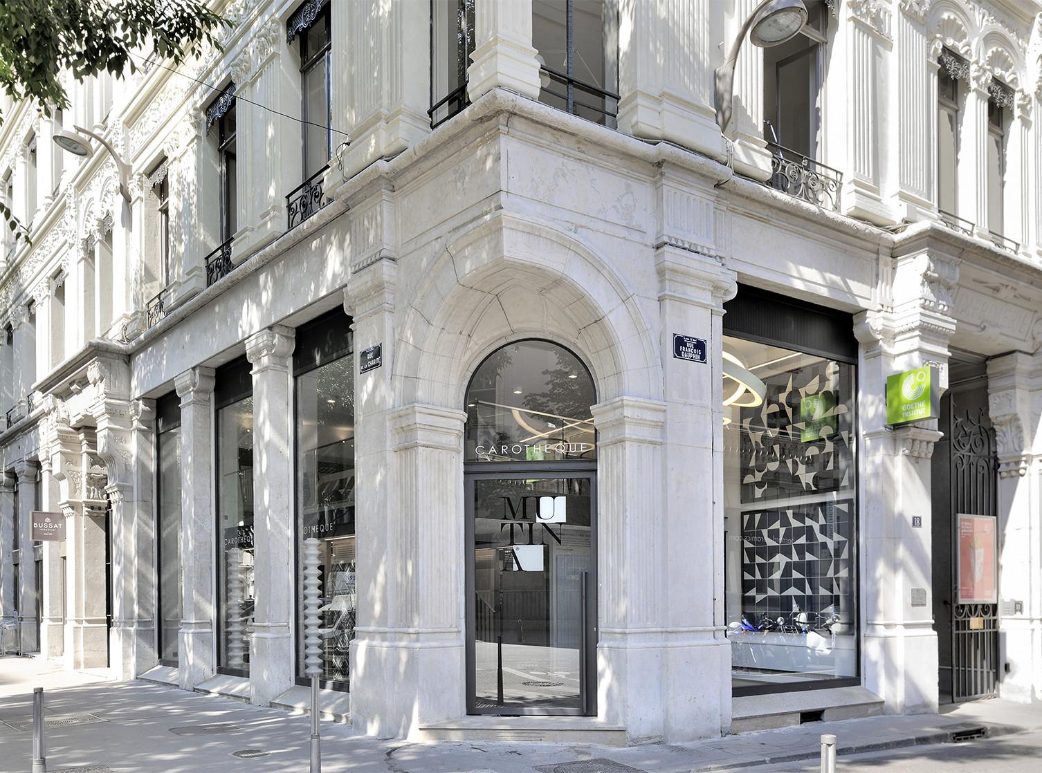 Carothèque Galerie Mutina Lyon Shop Design