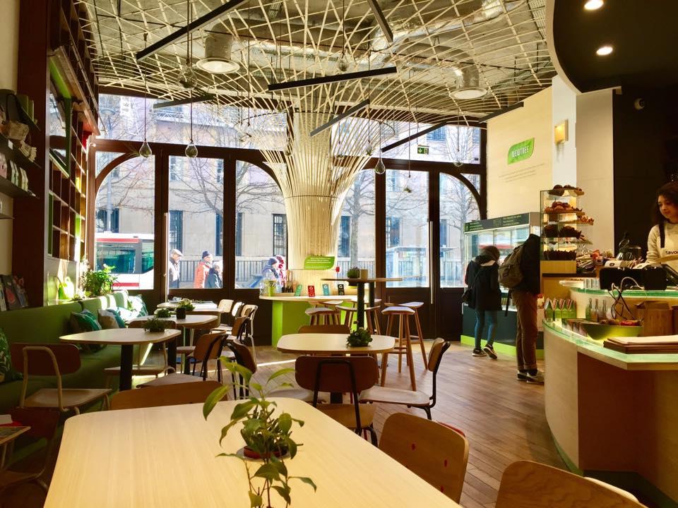 NewTree Lyon Shop Design