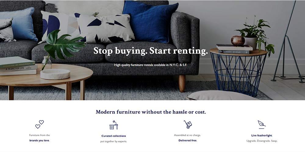 La location de mobilier sera bientôt possible chez Ikea Feather
