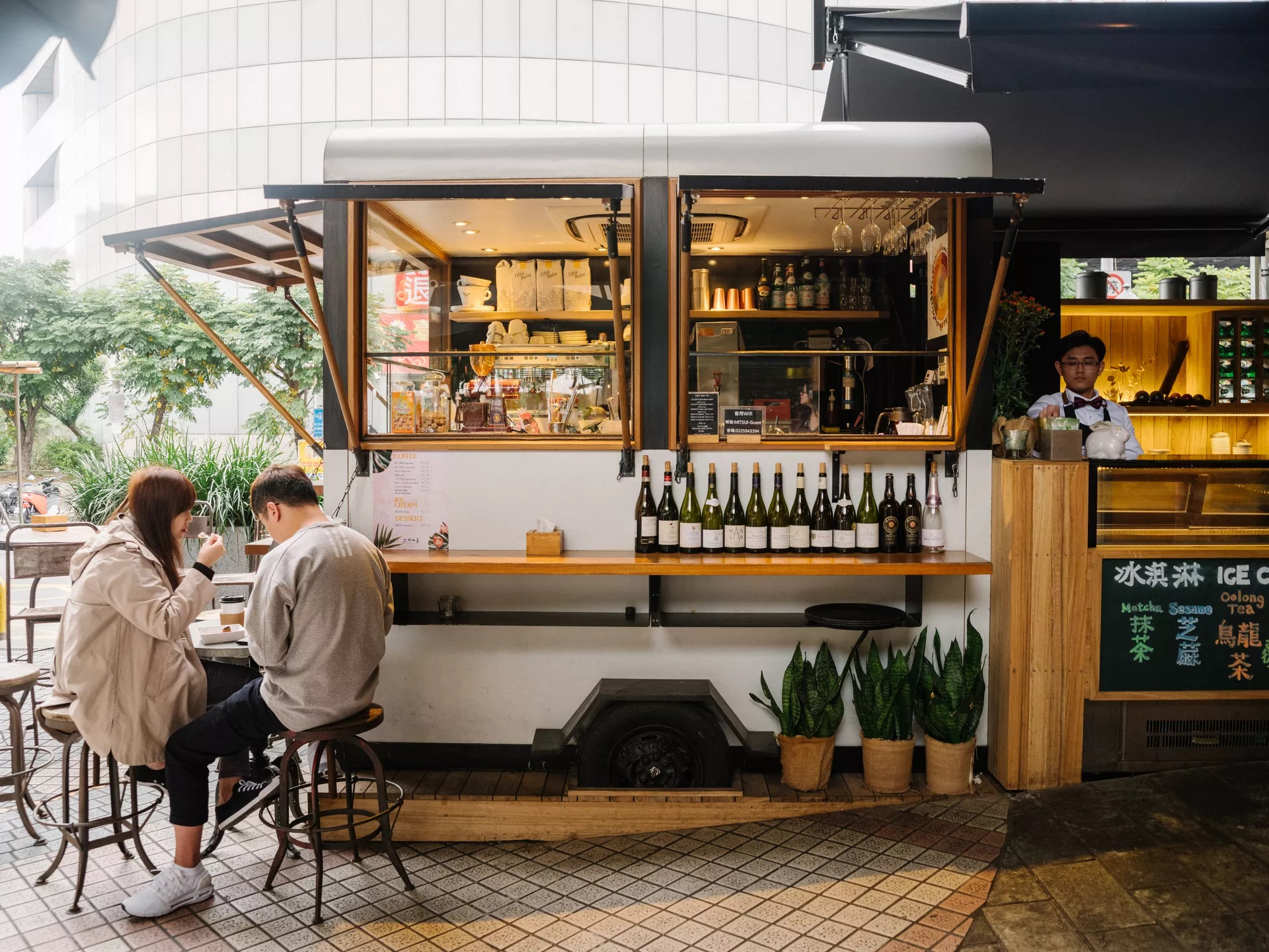 Addiction Aquatic Development - Dessert et café et bar à vin