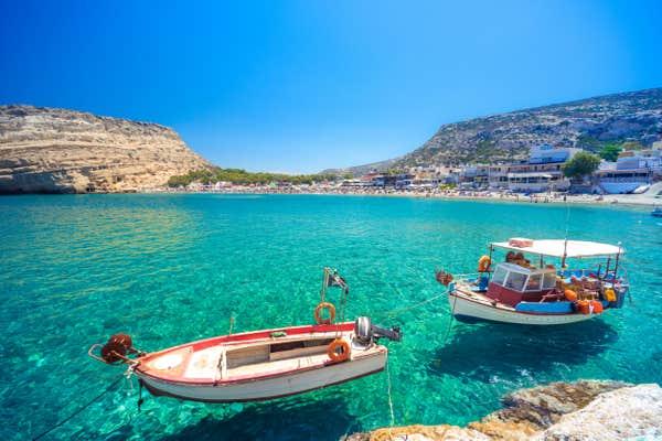 Îles grecques à visiter Crète