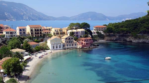 Îles grecques à visiter Kefalonia