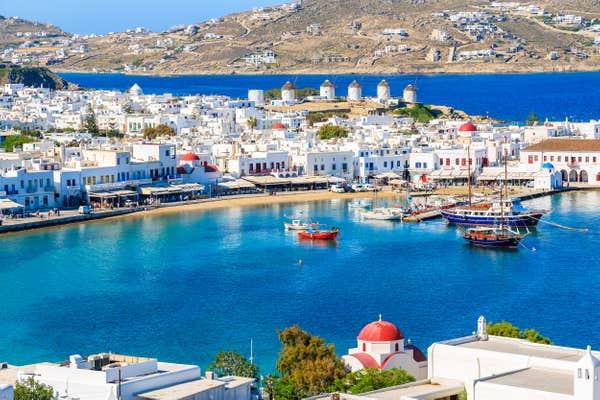 Îles grecques à visiter Mykonos