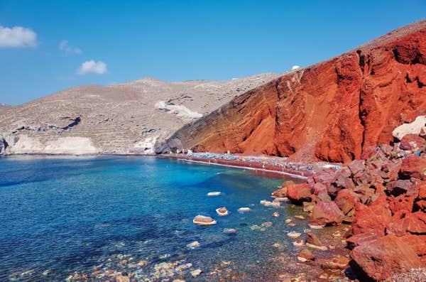 L'île de Santorin