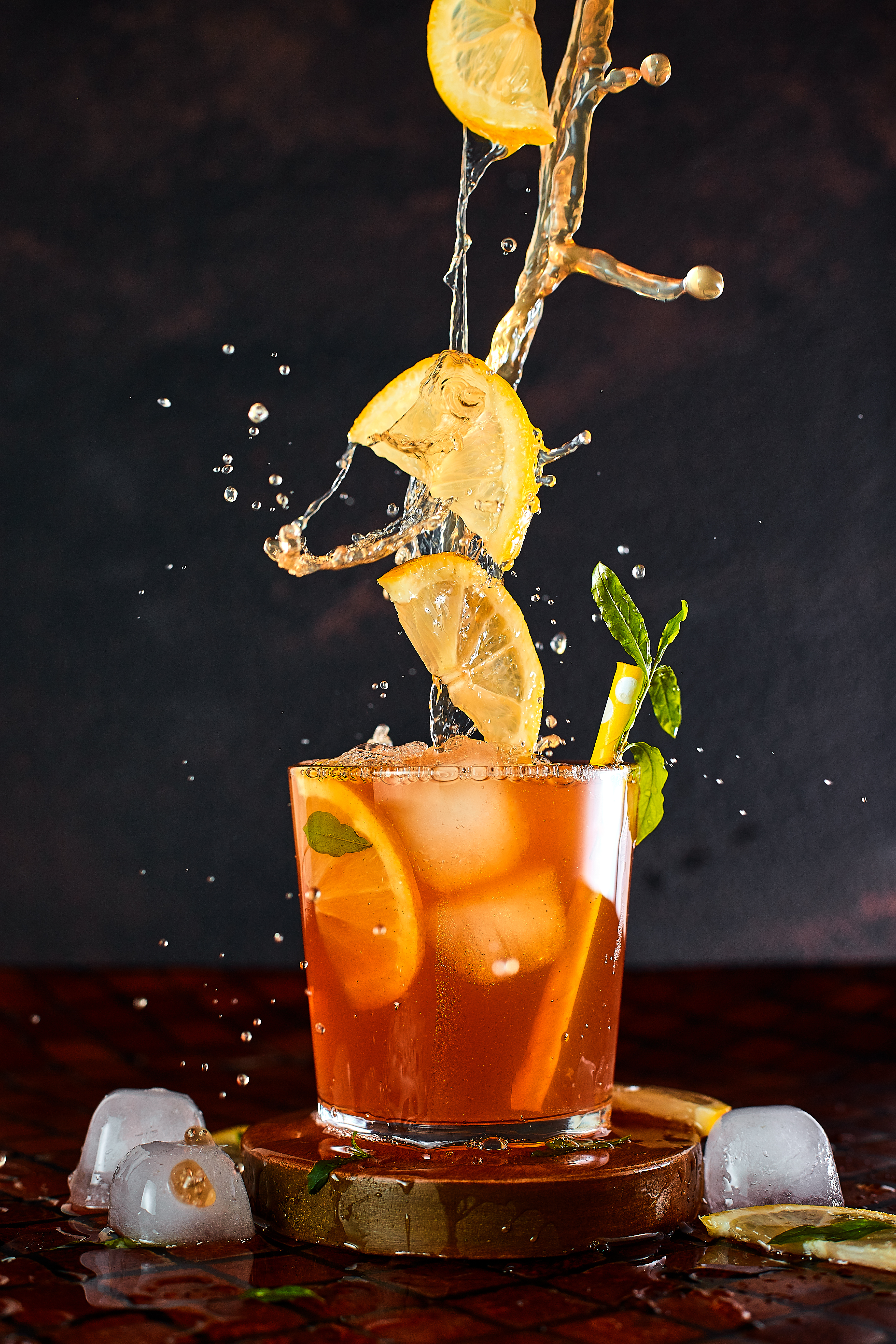 boisson très fraiche et rafraichissante