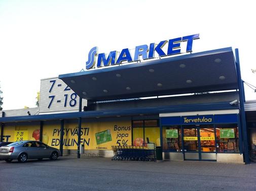 supermarchés S-Market
