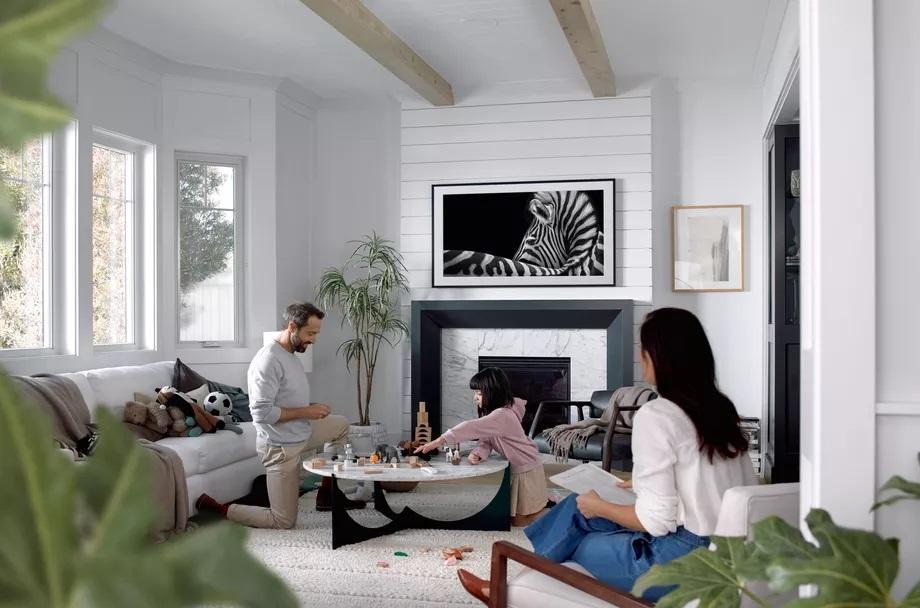 The Frame TV conçu par Fuseproject le studio Yves Béhar pour Samsung