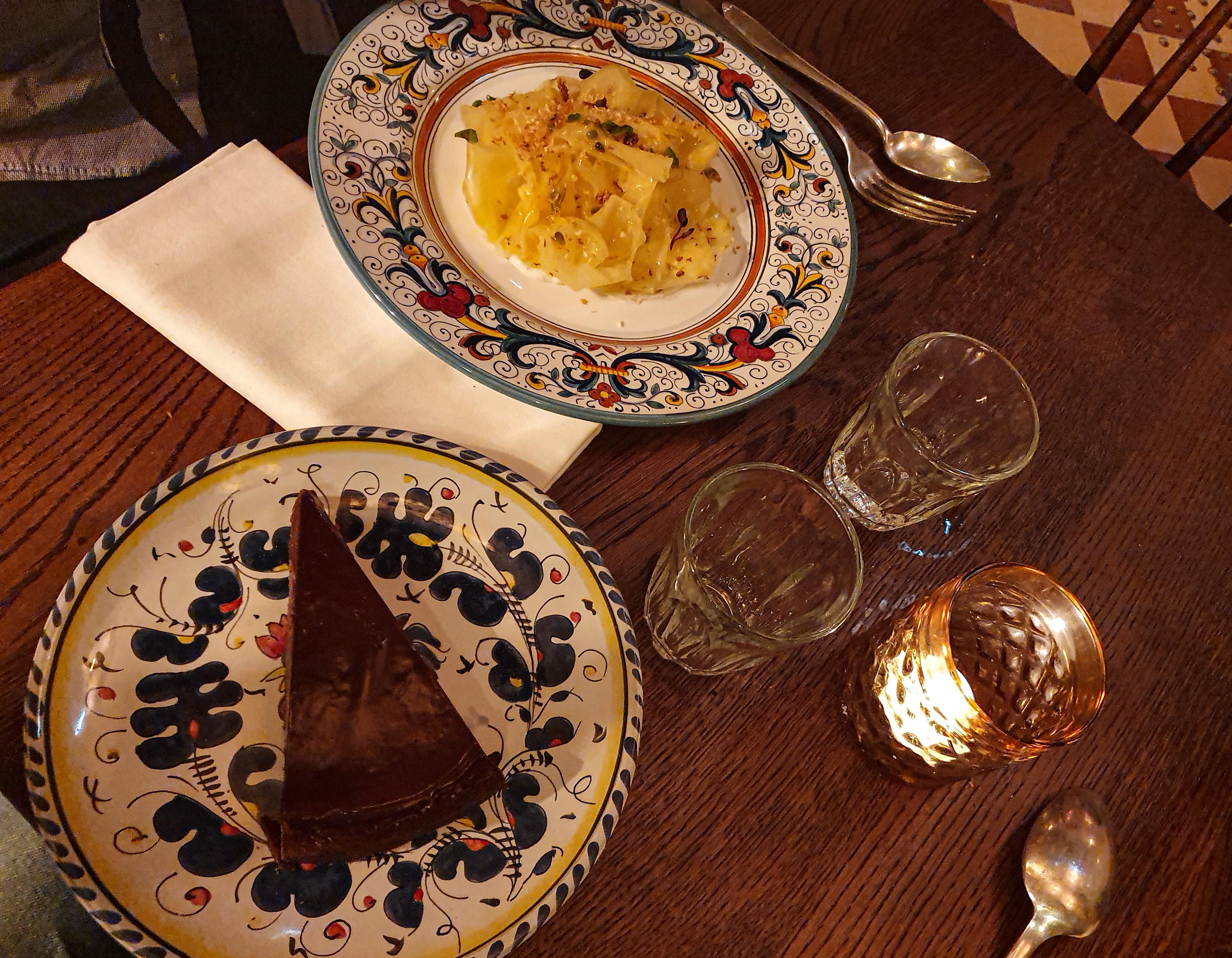 La carte du Carmelo desserts