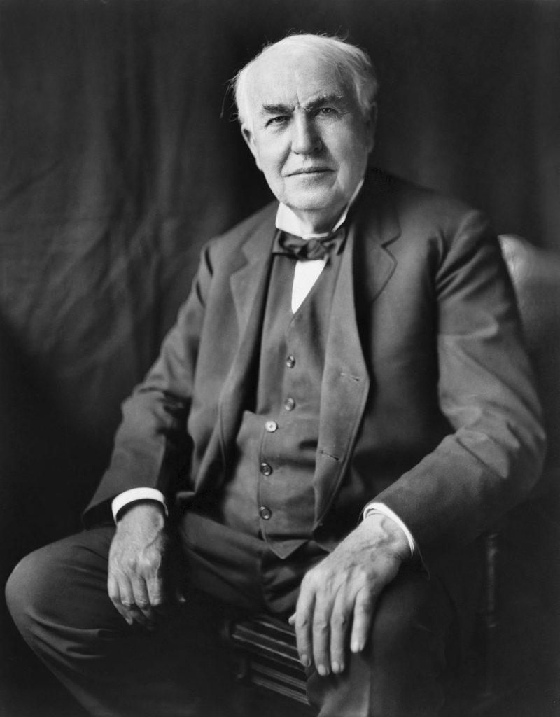 Avant le luminaire design ... il y avait Edison