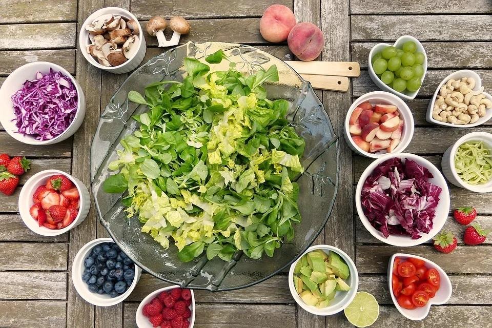 Mangez végétalien jusqu'à l'heure du dîner